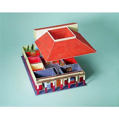 Maquette En Carton : Maison Romaine - Schreiber-Bogen - Rue Des