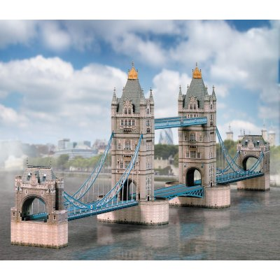 Maquette en carton : Tower Bridge, Londres - Schreiber-Bogen-671