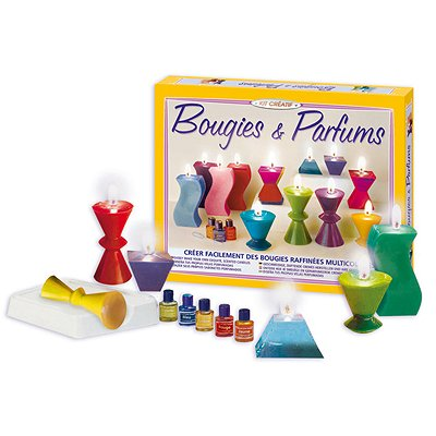 kit cr atif bougies et parfums moules zen jeux et. Black Bedroom Furniture Sets. Home Design Ideas