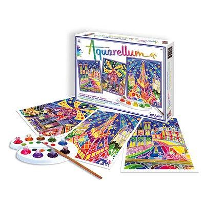 aquarellum paris by night jeux et jouets sentosph re avenue des jeux. Black Bedroom Furniture Sets. Home Design Ideas