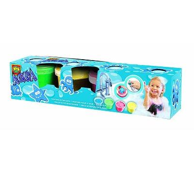 Peinture Pour Le Bain Aqua Peinture : 4 Pots Avec Tampons - Jeux