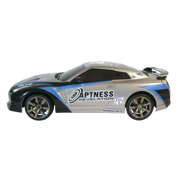Voiture radiocommandée Power in speed : GT Champions : Superdrift grise - Silverlit-82067-2