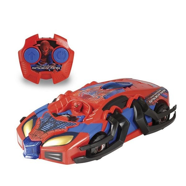 Voiture radiocommandée Spiderman The Amazing - Silverlit-85447