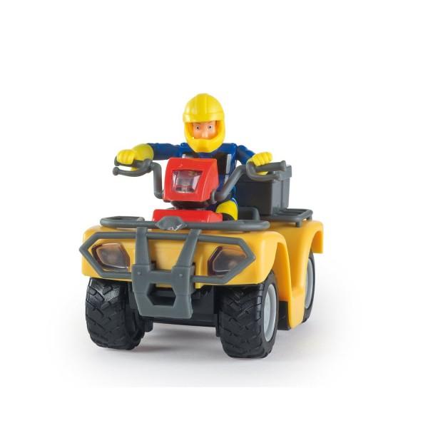 figurine sam le pompier et son quad mercure jeux et jouets simba avenue des jeux. Black Bedroom Furniture Sets. Home Design Ideas