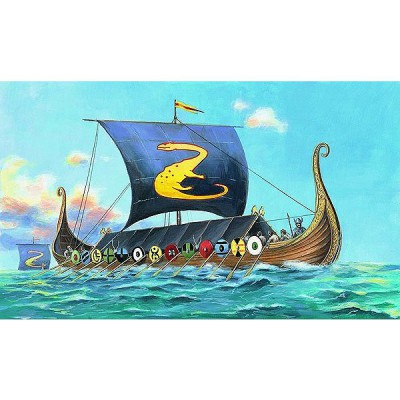 maquette bateau drakkar viking oseberg smer rue des
