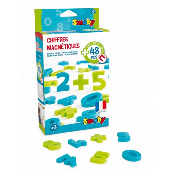 Chiffres magnétiques : 48 chiffres - Smoby-7/430101