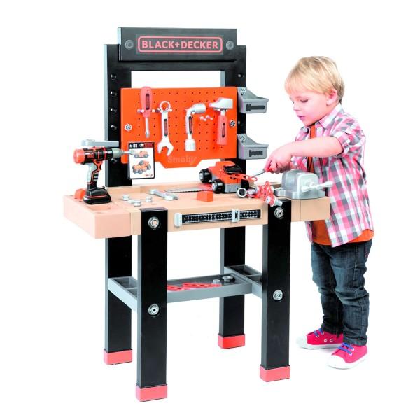 etabli bricolo center black et decker jeux et jouets. Black Bedroom Furniture Sets. Home Design Ideas