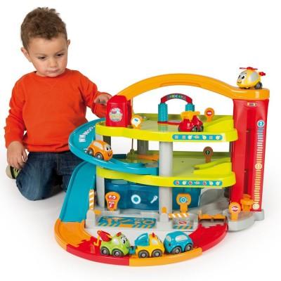 Garage vroom planet grand garage jeux et jouets smoby avenue des jeux - Grand garage voiture jouet ...