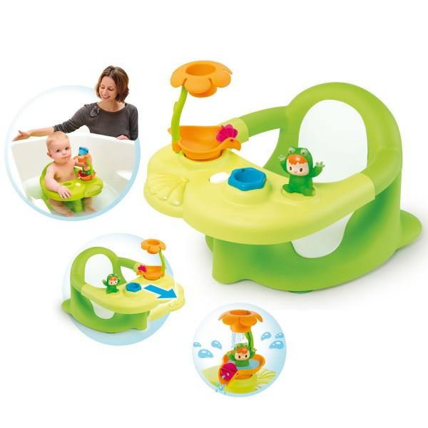 si ge de bain cotoons vert jeux et jouets smoby avenue des jeux