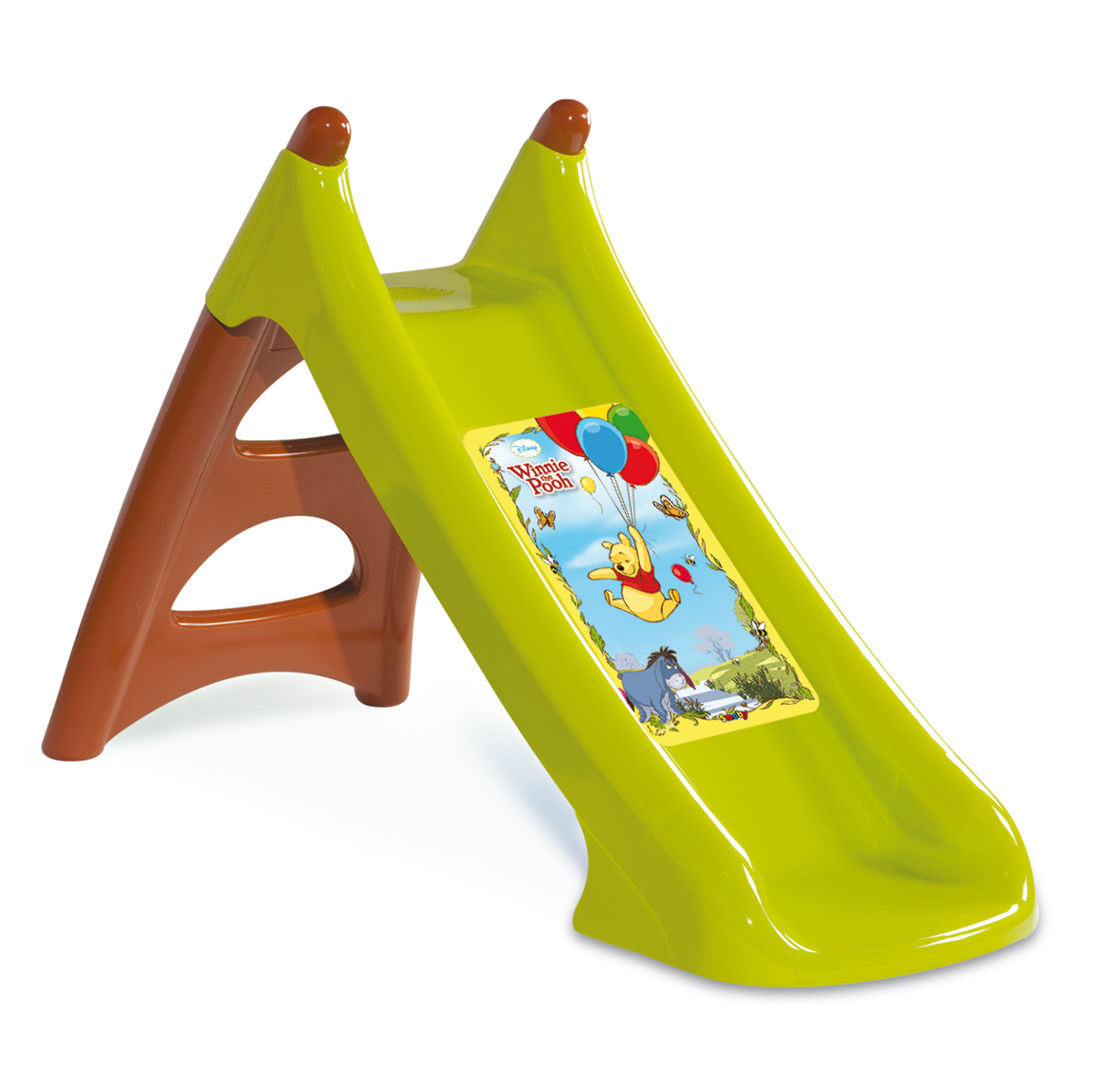 toboggan xs winnie l 39 ourson jeux et jouets smoby avenue des jeux. Black Bedroom Furniture Sets. Home Design Ideas
