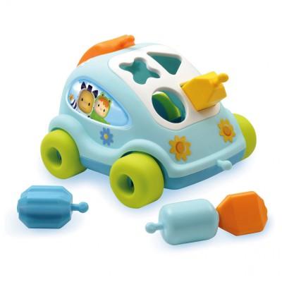 voiture formes cotoons auto malice bleu jeux et jouets smoby avenue des jeux. Black Bedroom Furniture Sets. Home Design Ideas