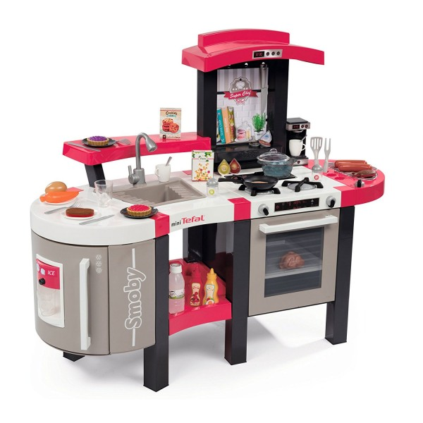 tefal cuisine super chef deluxe jeux et jouets smoby avenue des jeux. Black Bedroom Furniture Sets. Home Design Ideas