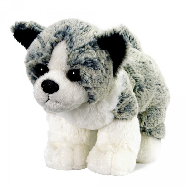 Peluche Soft Friends Chien gris et blanc (à l'assortiment) - Softfriends-SA04688-3