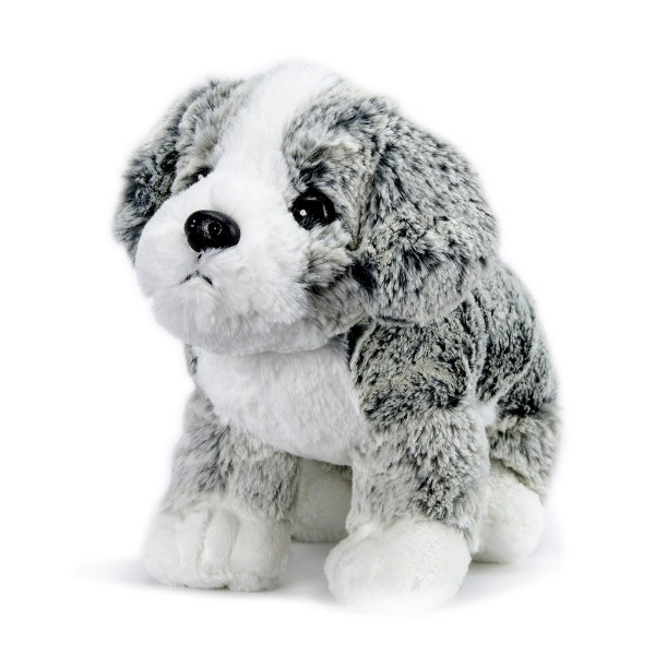 Peluche Soft Friends Chien gris et blanc 4 - Softfriends-SA04688-1