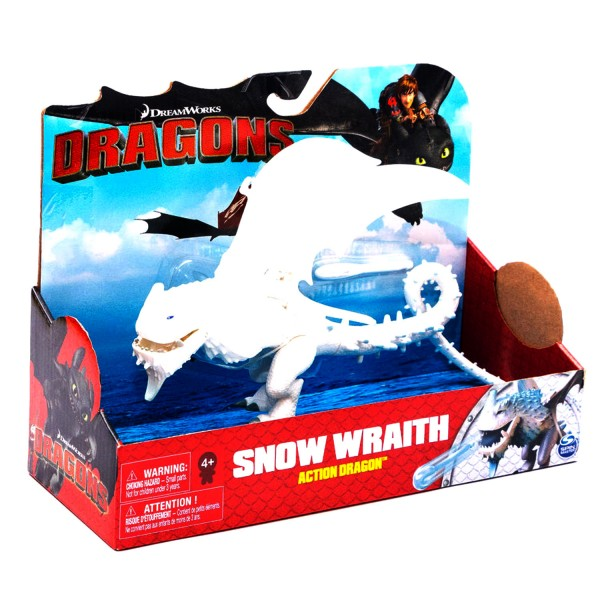 Figurine d'action Dragons : Snow Wraith - SpinM- 6037422-20087525