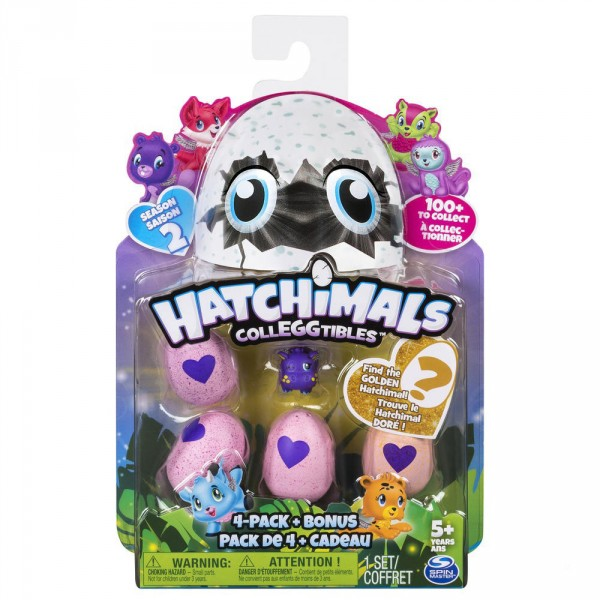 Figurines Hatchimals : Pack de 5 Figurines Saison 2 - SpinM-6041338