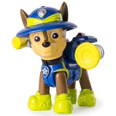figurine pat 39 patrouille paw patrol jungle rescue chase jeux et jouets spin master. Black Bedroom Furniture Sets. Home Design Ideas