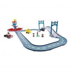 circuit de voitures mallette grand prix story jeux et jouets janod avenue des jeux. Black Bedroom Furniture Sets. Home Design Ideas