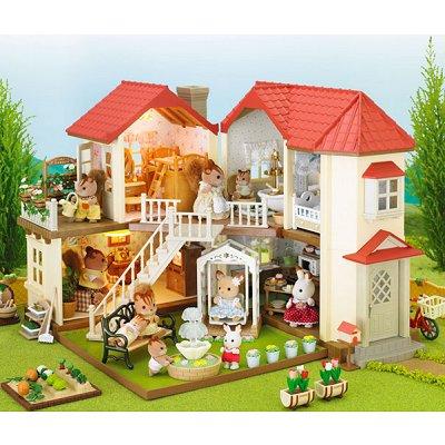 sylvanian family 2752 grande maison tradition clair e avenue des jeux. Black Bedroom Furniture Sets. Home Design Ideas