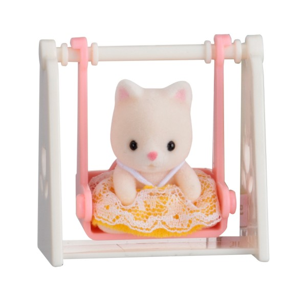 sylvanian family 5201 valisette b b chat balan oire jeux et jouets sylvanian families. Black Bedroom Furniture Sets. Home Design Ideas