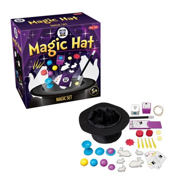 coffret magie magic hat 30 tours jeux et jouets tactic. Black Bedroom Furniture Sets. Home Design Ideas