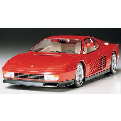 maquette voiture ferrari testarossa jeux et jouets tamiya avenue des jeux. Black Bedroom Furniture Sets. Home Design Ideas