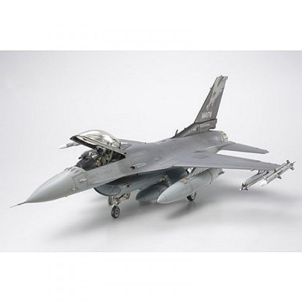 Maquette avion : Lockeed F-16C (block 25/32) : Fighting Falcon ANG - Tamiya-61101
