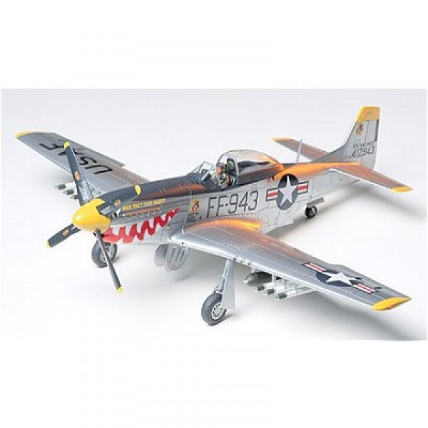 Maquette avion : North American F 51D Mustang Korean war - Tamiya-61044