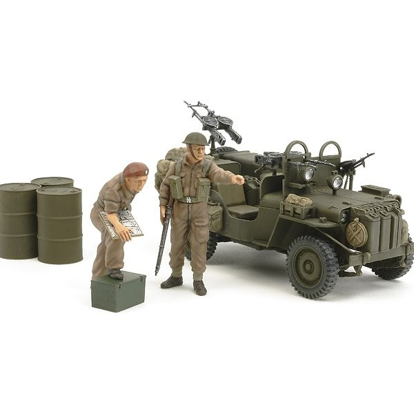 Maquette SAS Commando Car - Tamiya-25152