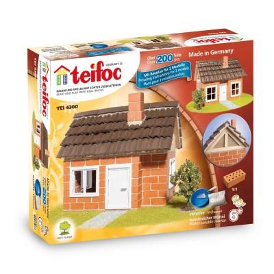 construction en briques maison colombages teifoc rue des maquettes. Black Bedroom Furniture Sets. Home Design Ideas