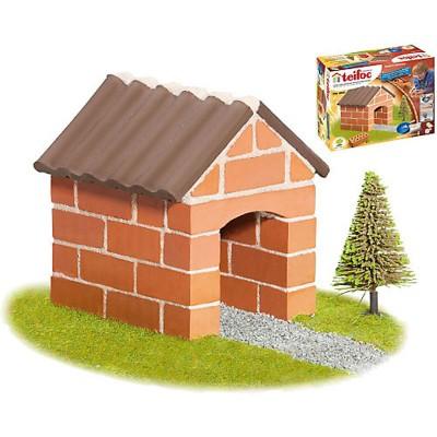 construction en briques petite maison teifoc rue des maquettes. Black Bedroom Furniture Sets. Home Design Ideas