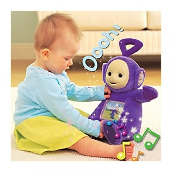 Peluche à fonction - Teletubbies : Tinky Winky - Tomy-4994-4995