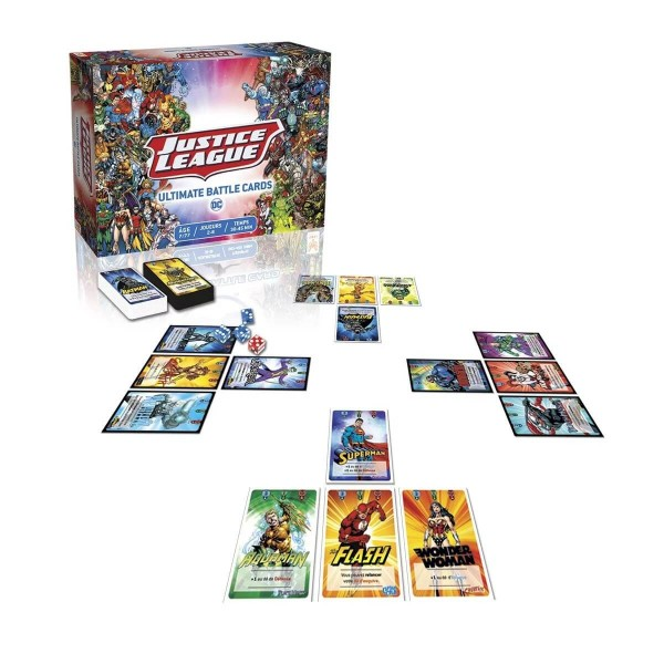 Justice League Ultimate Battle Cards - TopiGames-DC-WB-579001
