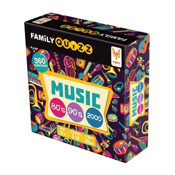 Family Quizz Musique 80\u0027s/90\u0027s , TopiGames,FAM,MU,349001