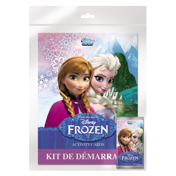 Cartes à collectionner La Reine des Neiges (Frozen) : Kit de démarrage - Topps-DP981