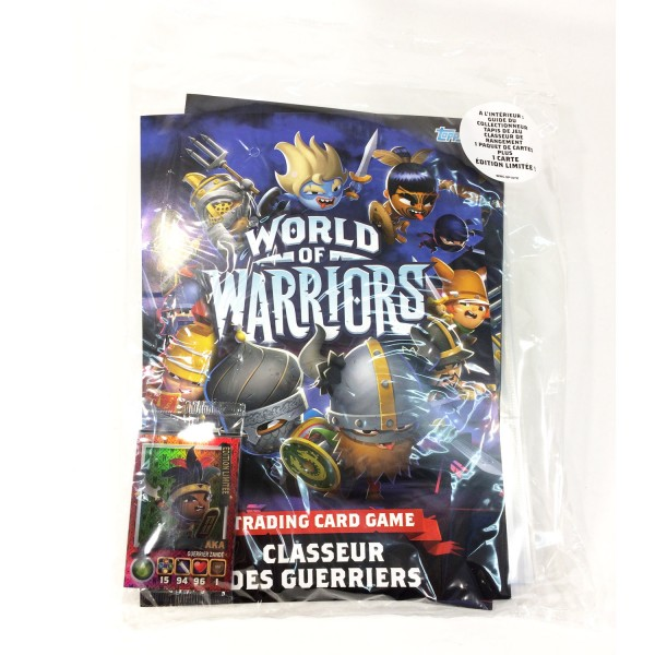 Cartes à collectionner World of Warriors : Kit de démarrage - Topps-WW175