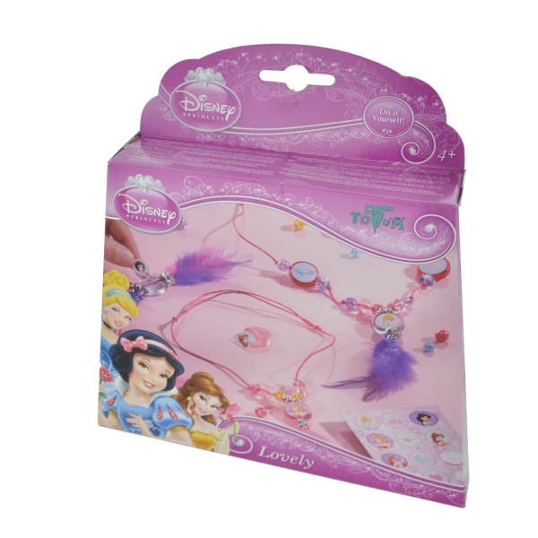 Kit créatif Disney Princess - Lovely Creativity - Totum-BJ49505