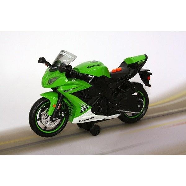 moto roue arri re kawasak ninja zw 10r vert jeux et jouets toystate avenue des jeux. Black Bedroom Furniture Sets. Home Design Ideas