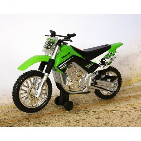 moto roue arri re kawasaki klx 140 vert jeux et jouets toystate avenue des jeux. Black Bedroom Furniture Sets. Home Design Ideas