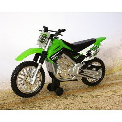 moto roue arri re kawasaki klx 140 vert toystate le lutin rouge. Black Bedroom Furniture Sets. Home Design Ideas