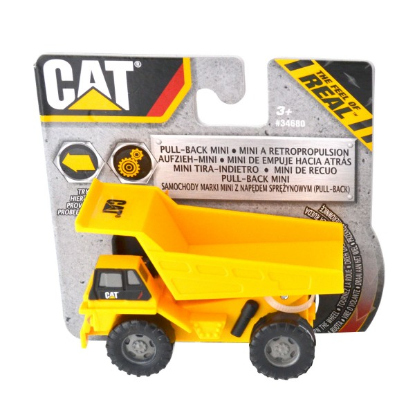Engin de chantier Cat : Camion benne à rétropropulsion - Toystate-34680-4