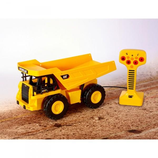 v hicule de chantier radiocommand dump truck cat jeux et jouets toystate avenue des jeux. Black Bedroom Furniture Sets. Home Design Ideas