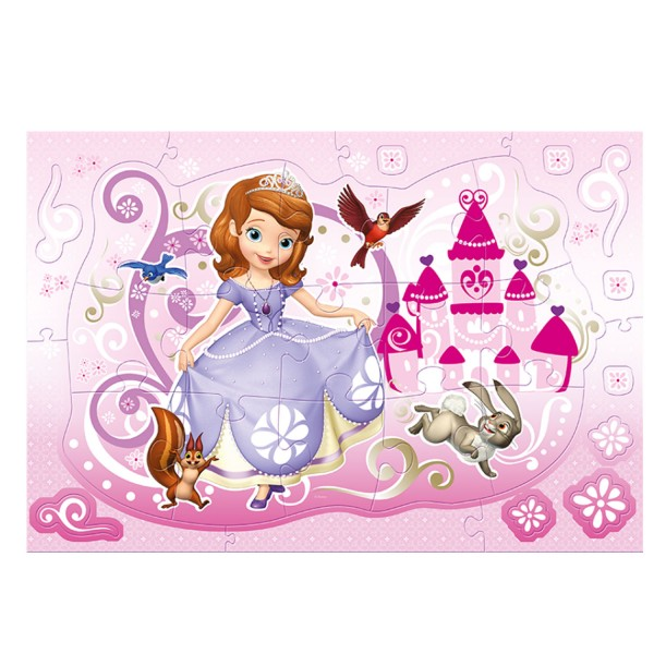 Puzzle 15 pièces Magic Decor : Princesse Sofia - Trefl-14611