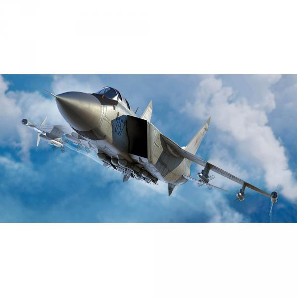 Maquette avion : Russian MiG-31M Foxhound  - Trumpeter-TR01681