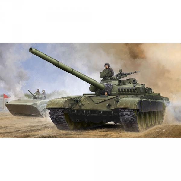 Maquette char : Char russe T-72A Mod1979 MBT  - Trumpeter-TR09546