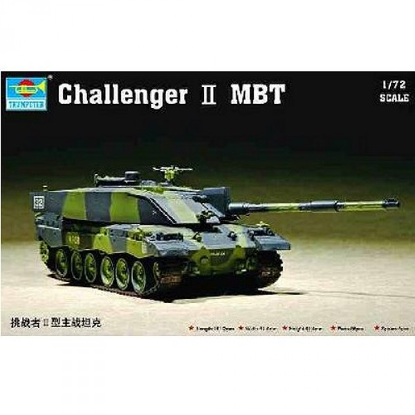 Maquette Char : Challenger II MBT - Trumpeter-TR07214