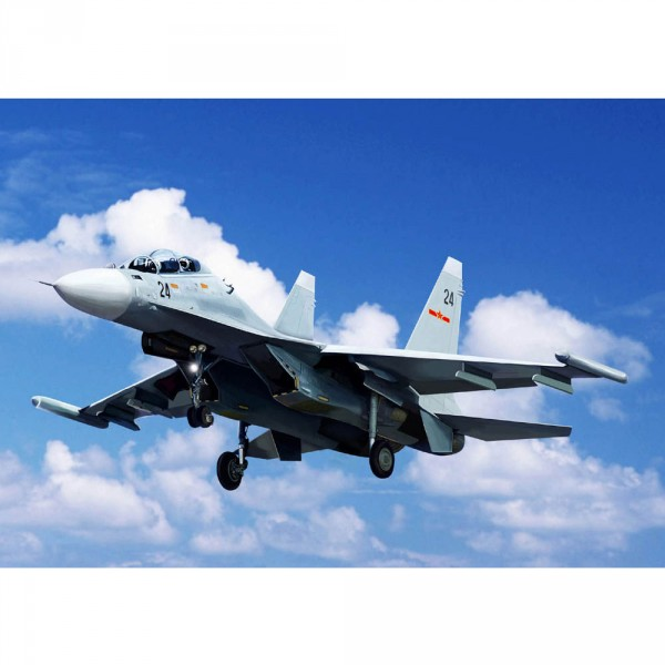 Maquette Avion Militaire : SU-30MK Flanker G Russe - Trumpeter-TR03917