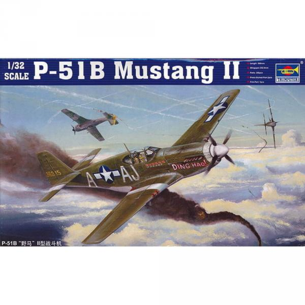 Maquette avion : Mustang P-51B  - Trumpeter-TR02274