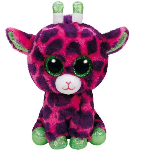 Peluche beanie boo 39 s small gilbert la girafe jeux et jouets ty beanie boo 39 s avenue des jeux - Jeux de toutou a gros yeux ...