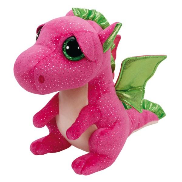 peluche ty beanie boos medium darla le dragon jeux et